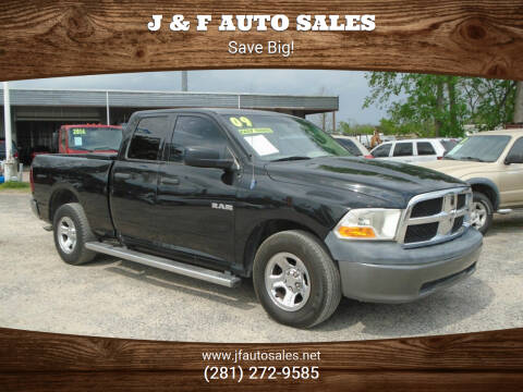 2009 Dodge Ram Pickup 1500 for sale at J & F AUTO SALES in Houston TX
