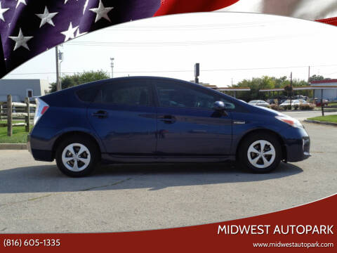 2015 Toyota Prius for sale at Midwest Autopark in Kansas City MO