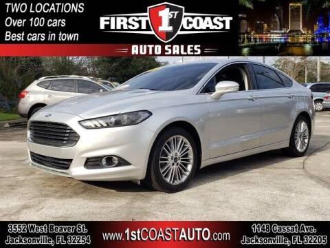 2014 Ford Fusion for sale at 1st Coast Auto -Cassat Avenue in Jacksonville FL