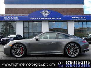 2018 Porsche 911 for sale at Highline Group Motorsports in Lowell MA