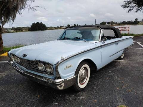 1960 Ford Sunliner for sale at Classic Car Deals in Cadillac MI