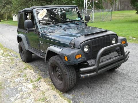 2005 Jeep Wrangler for sale at ELIAS AUTO SALES in Allentown PA