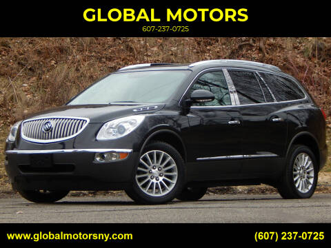 2011 Buick Enclave for sale at GLOBAL MOTORS in Binghamton NY