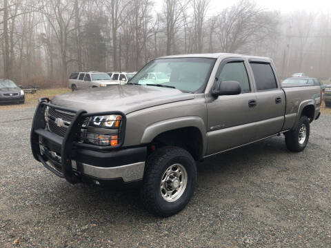 2006 Chevrolet Silverado 2500HD for sale at J.W. Auto Sales INC in Flemington NJ