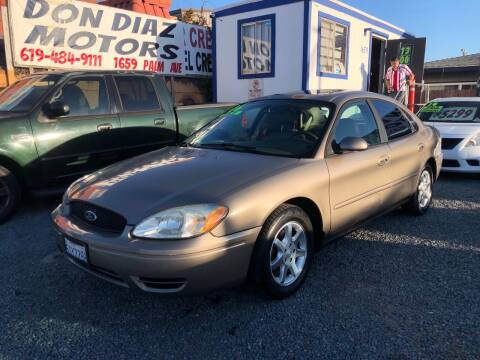 2006 Ford Taurus for sale at DON DIAZ MOTORS in San Diego CA