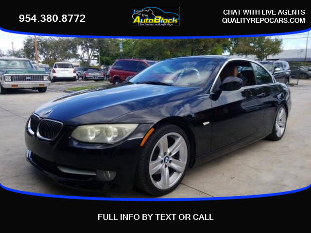 2011 BMW 3 Series for sale at The Autoblock in Fort Lauderdale FL