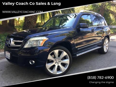 2010 Mercedes-Benz GLK for sale at Valley Coach Co Sales & Lsng in Van Nuys CA