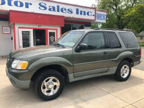 2003 Ford Explorer Sport for sale at TNT Motor Sales in Oregon IL
