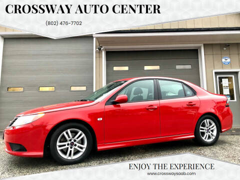 2011 Saab 9-3 for sale at CROSSWAY AUTO CENTER in East Barre VT