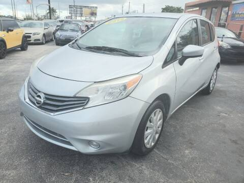 2015 Nissan Versa Note for sale at A Group Auto Brokers LLc in Opa-Locka FL