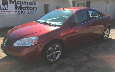 2008 Pontiac G6 for sale at Mama's Motors in Greer SC