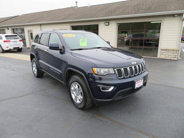 2017 Jeep Grand Cherokee for sale at Tri-County Pre-Owned Superstore in Reynoldsburg OH