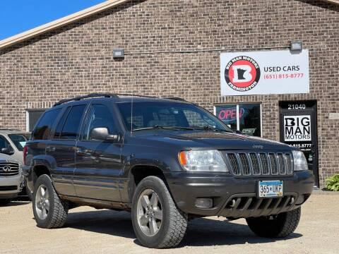 2002 Jeep Grand Cherokee for sale at Big Man Motors in Farmington MN