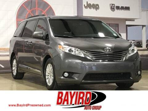 2017 Toyota Sienna for sale at Bayird Truck Center in Paragould AR