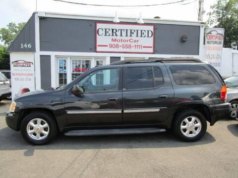 2005 GMC Envoy XL for sale at CERTIFIED MOTORCAR LLC in Roselle Park NJ