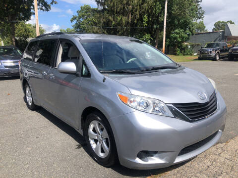 2013 Toyota Sienna for sale at Chris Auto Sales in Springfield MA