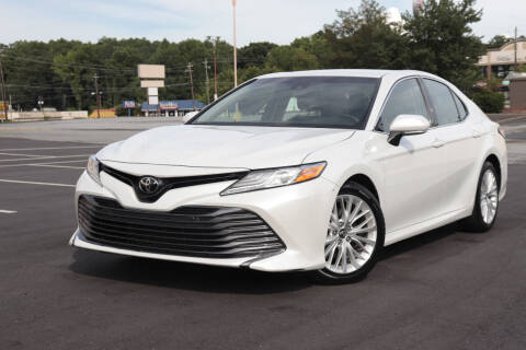 2018 Toyota Camry for sale at Auto Guia in Chamblee GA