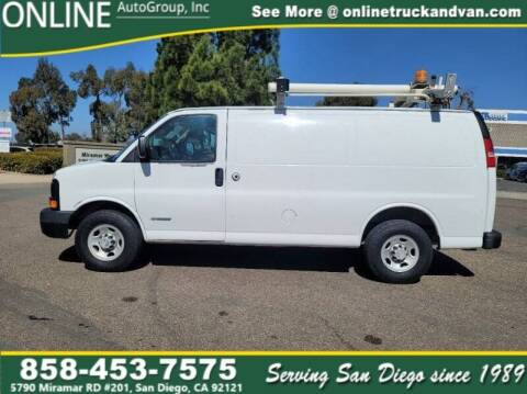 2006 Chevrolet Express Cargo for sale at Online Auto Group Inc in San Diego CA