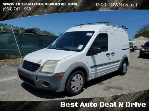 2011 Ford Transit Connect for sale at Best Auto Deal N Drive in Hollywood FL