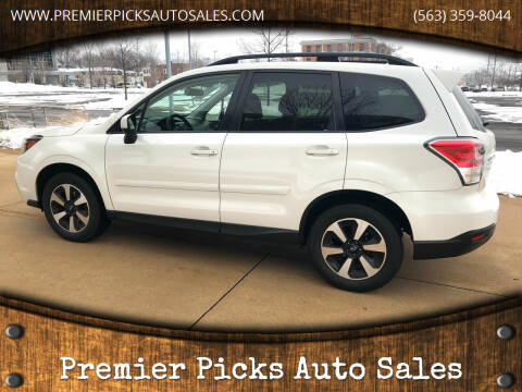 2017 Subaru Forester for sale at Premier Picks Auto Sales in Bettendorf IA