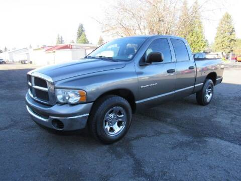 2005 Dodge Ram Pickup 1500 for sale at Triple C Auto Brokers in Washougal WA