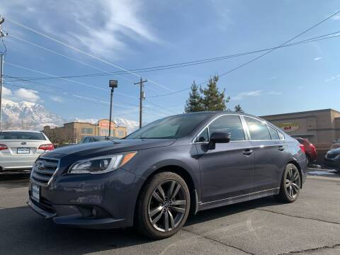 2017 Subaru Legacy for sale at Ultimate Auto Sales Of Orem in Orem UT