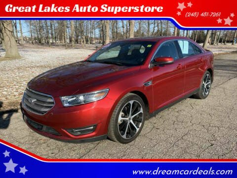 2015 Ford Taurus for sale at Great Lakes Auto Superstore in Pontiac MI