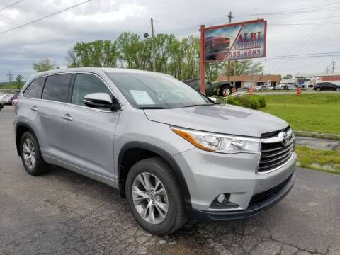 2016 Toyota Highlander for sale at Albi Auto Sales LLC in Louisville KY