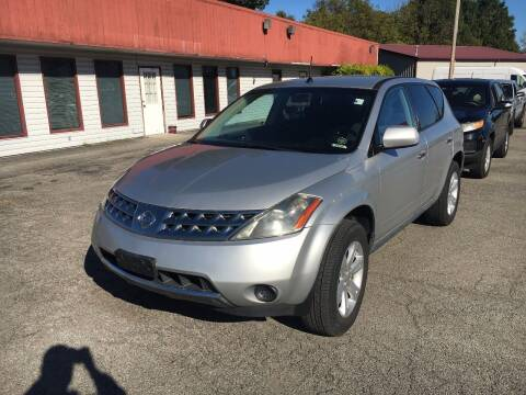 2007 Nissan Murano for sale at Best Buy Auto Sales in Murphysboro IL