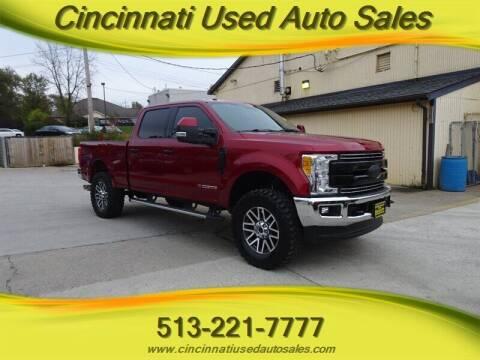 2017 Ford F-250 Super Duty for sale at Cincinnati Used Auto Sales in Cincinnati OH