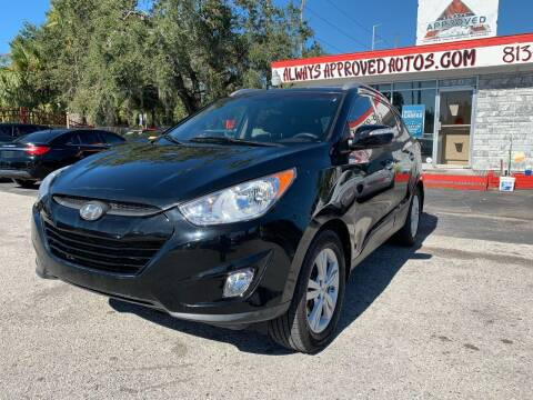 2013 Hyundai Tucson for sale at Always Approved Autos in Tampa FL