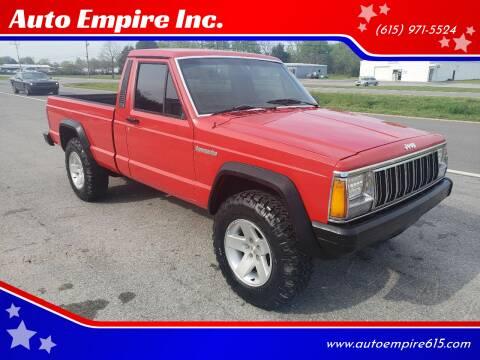 1987 Jeep Comanche for sale at Auto Empire Inc. in Murfreesboro TN