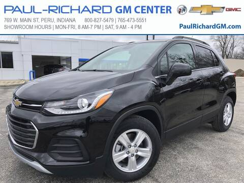 2020 Chevrolet Trax for sale at Paul-RICHARD Gm Ctr in Peru IN