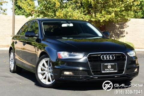 2015 Audi A4 for sale at Galaxy Autosport in Sacramento CA