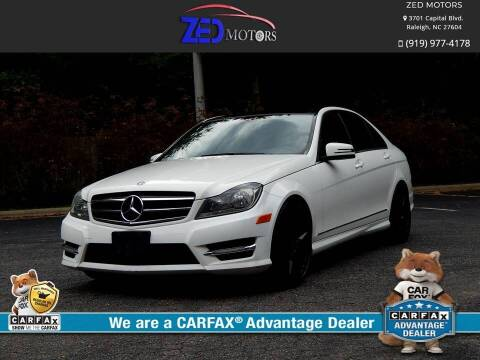 2014 Mercedes-Benz C-Class for sale at Zed Motors in Raleigh NC