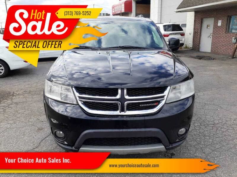 2014 Dodge Journey for sale in Dearborn, MI