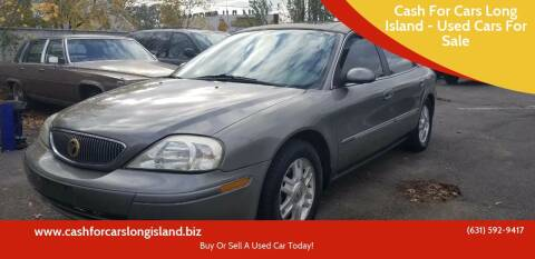 2004 Mercury Sable for sale at Cash For Cars Long Island - Used Cars For Sale in Lindenhurst NY