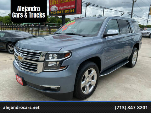 2016 Chevrolet Tahoe for sale at Alejandro Cars & Trucks in Houston TX