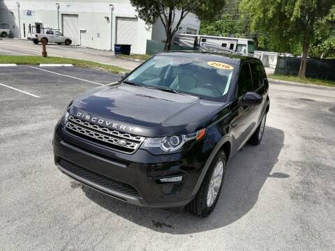 2016 Land Rover Discovery Sport for sale at Best Price Car Dealer in Hallandale Beach FL