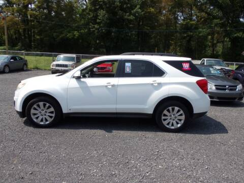 2010 Chevrolet Equinox for sale at RJ McGlynn Auto Exchange in West Nanticoke PA