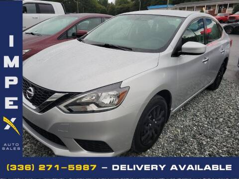 2017 Nissan Sentra for sale at Impex Auto Sales in Greensboro NC