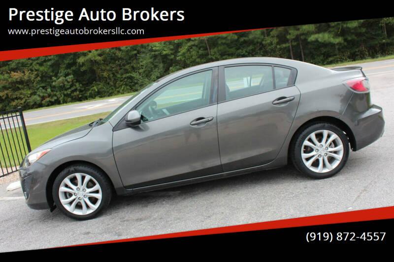 2011 Mazda MAZDA3 for sale at Prestige Auto Brokers in Raleigh NC