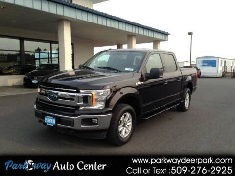 2018 Ford F-150 for sale at PARKWAY AUTO CENTER AND RV in Deer Park WA