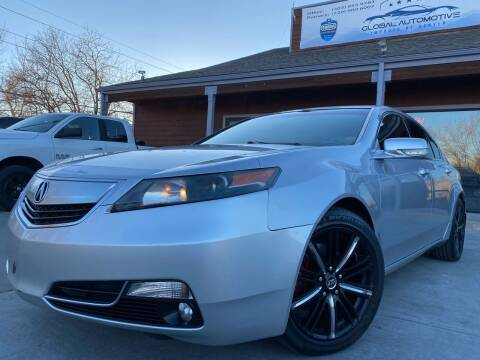 2013 Acura TL for sale at Global Automotive Imports in Denver CO