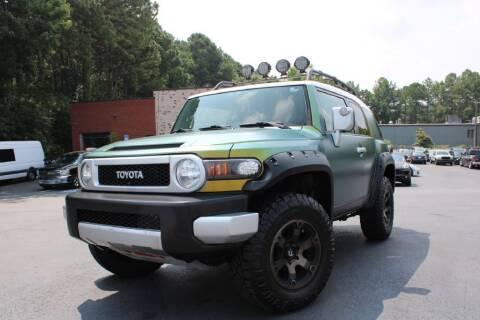 2012 Toyota FJ Cruiser for sale at Atlanta Unique Auto Sales in Norcross GA