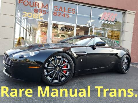 2007 Aston Martin V8 Vantage for sale at FOUR M SALES in Buffalo NY