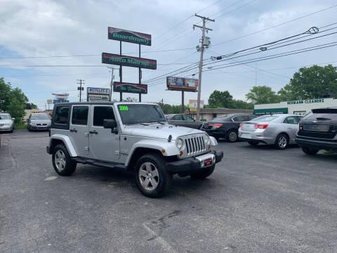 2009 Jeep Wrangler Unlimited for sale at Boardman Auto Mall in Boardman OH
