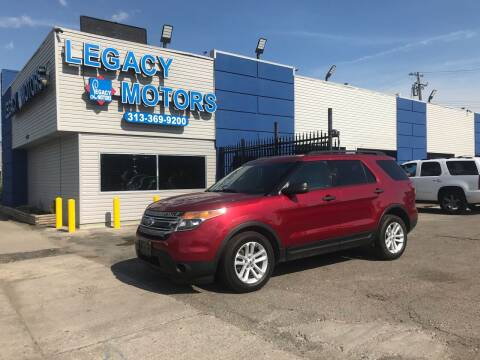 2015 Ford Explorer for sale at Legacy Motors in Detroit MI