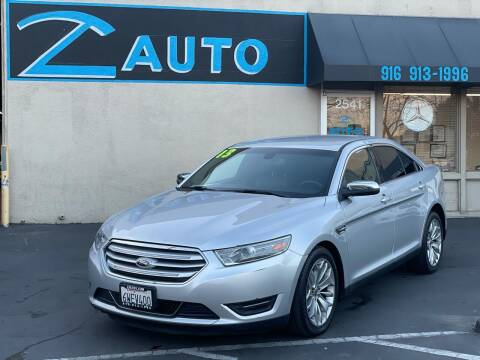 2013 Ford Taurus for sale at Z Auto in Sacramento CA
