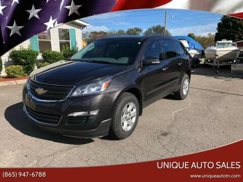 2015 Chevrolet Traverse for sale at Unique Auto Sales in Knoxville TN